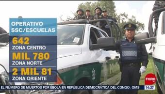FOTO: Alistan operativo por regreso a clases en Ciudad de México, 24 Agosto 2019