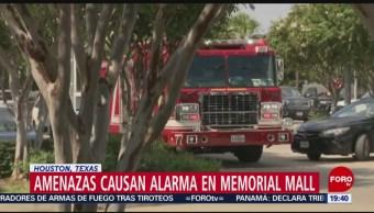 FOTO: Amenazas causan alarma en Memorial Mall, Houston, Texas, 11 Agosto 2019