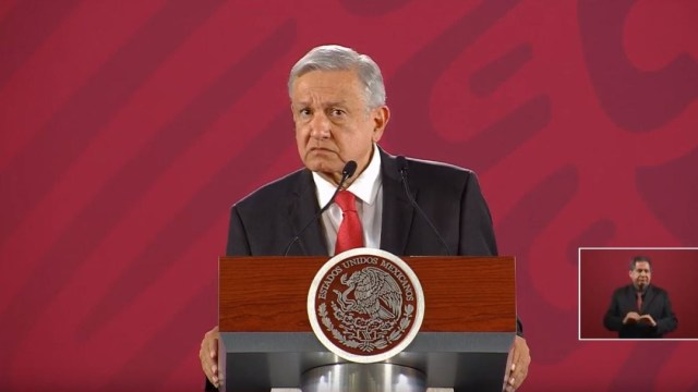 Foto: El presidente de México, Andrés Manuel López Obrador, ofrece una conferencia de prensa sobre la Cartilla Moral, 15 agosto 2019