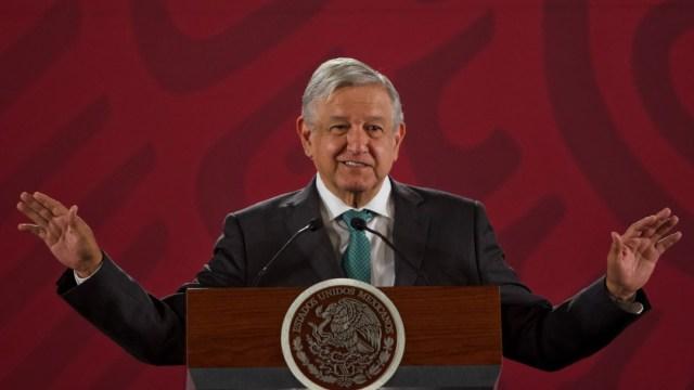 López Obrador rinde mensaje con motivo de su primer informe de gobierno, este domingo