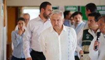 Foto: AMLO destaca la urgencia de resolver el problema de salud de México, el 10 de agosto de 2019 (Gobierno de México)