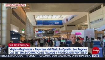 FOTO: Anuncian Lenta Recuperación Sistemas Informáticos Aeropuertos EU