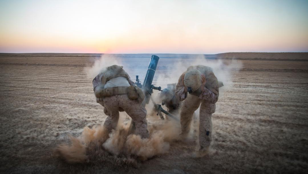Foto: Las Fuerzas de EE.UU. llevaron a cabo un ataque contra el liderazgo de Al Qaeda en Siria, 31 de agosto de 2019 (AP, archivo)