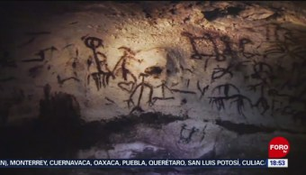 FOTO: Arqueólogos Descubren Pinturas Rupestres Campeche