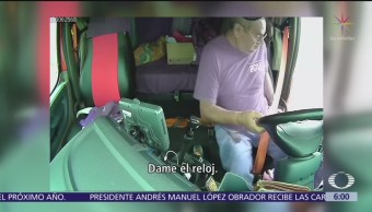 Asalto a choferes de tráileres en retén falso de Reynosa, Tamaulipas