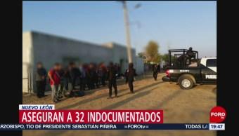 Foto: Aseguran 32 Indocumentados Nuevo León 20 Agosto 2019