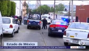 Asesinan a dos personas en calles de Naucalpan, Edomex
