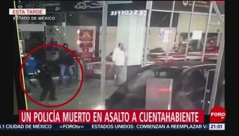 Foto: Asesinan Policía Que Ayudaba Cuentahabiente Plaza Interlomas 22 agosto 2019