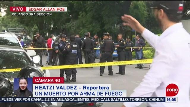 FOTO: Asesinan repartidor comida Polanco