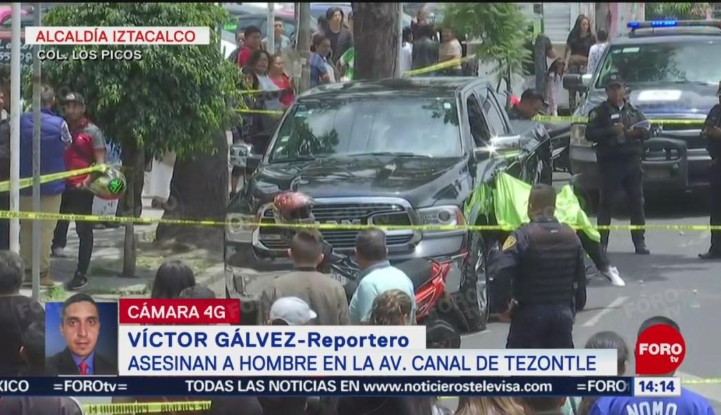 FOTO: Asesinan Hombre Canal Tezontle CDMX