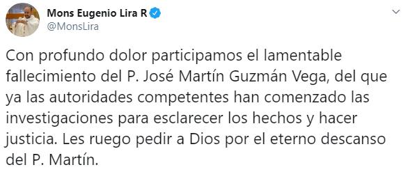 IMAGEN Asesinan a un sacerdote, dentro de parroquia, en Matamoros (Twitter)