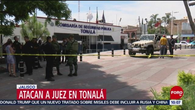 FOTO: Atacan a juez en Tonalá, Jalisco, 3 AGOSTO 2019