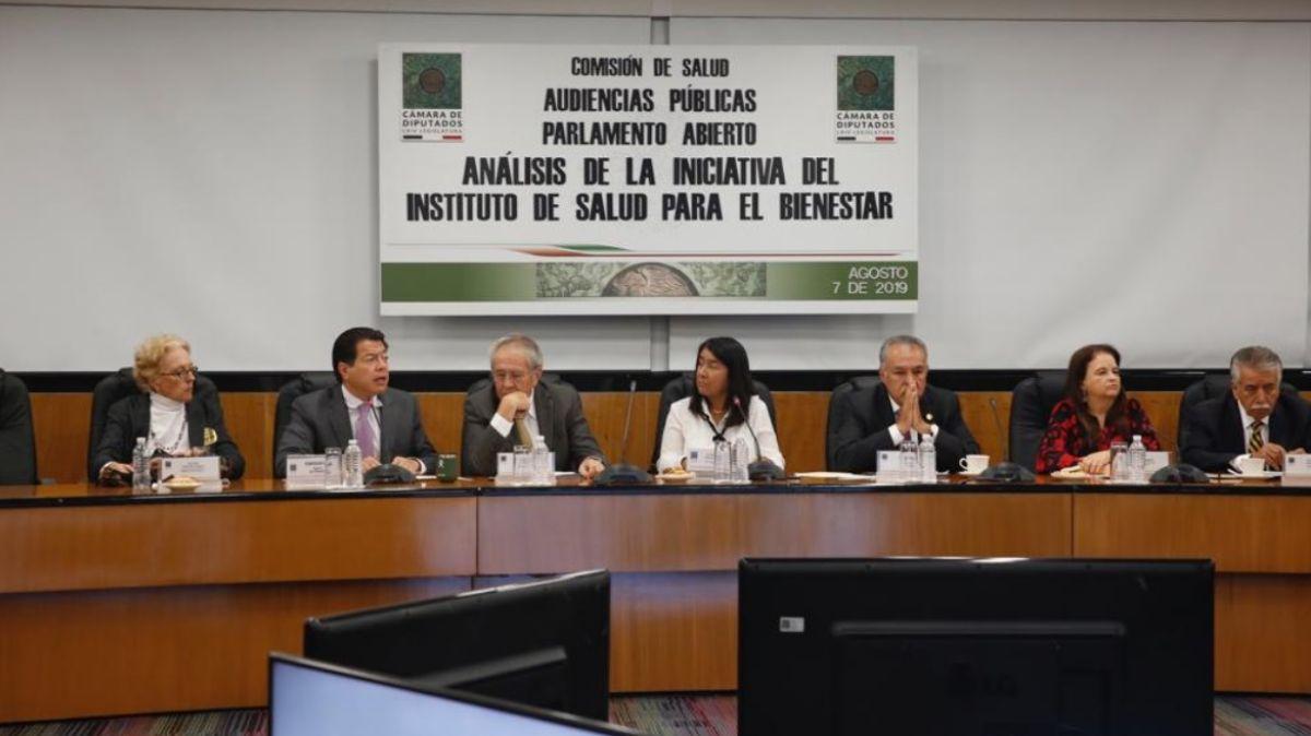 Audiencias Públicas para la Creación del Instituto de Salud para el Bienestar.