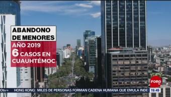 Foto: Aumenta Abandono Menores Edad CDMX