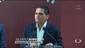 Foto: Autodefensas Delincuentes Confesos Silvano Aureoles 21 Agosto 2019