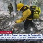 Foto: Avanza control incendio reserva Sian Ka'an David León