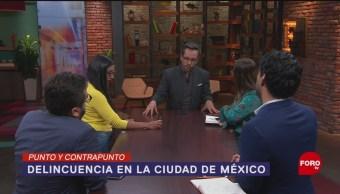Foto: Baja Delincuencia Cdmx Gobierno Sheinbaum 29 Agosto 2019