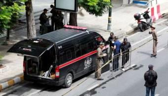 Se registran atentados de bomba, en Tailandia