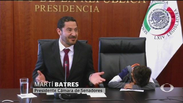 Foto: Batres Impugna Votación Que No Fue Reelecto Para Presidir Senado