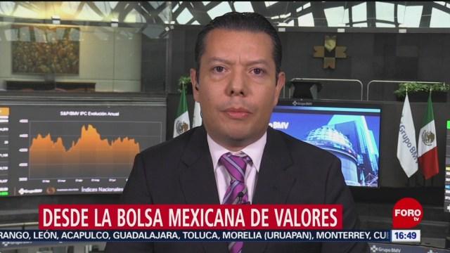 bolsa mexicana cierra con ganancias