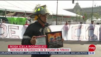 Foto: Bomberos De Cdmx Inician Huelga De Hambre 23 Agosto 2019