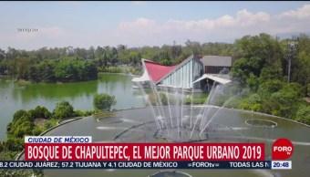 Foto: Bosque De Chapultepec Mejor Parque Urbano Mundo 13 Agosto 2019