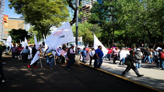Foto Campesinos inician marchas y bloqueos en CDMX 8 agosto 2019