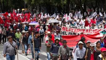 Foto: Protestas de campesinos, 8 de agosto de 2019, Ciudad de México