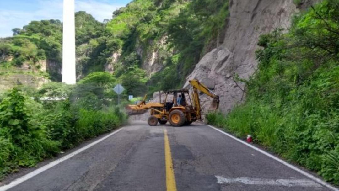 Foto: Se estima que la vialidad podría quedar liberada en los próximos 7 días, 28 de agosto de 2019 (Notisistema)