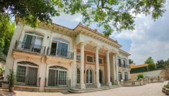 Imagen: La casa del empresario Zhenli Ye Gon se ubica en la colonia Lomas de Chapultepec en la alcaldía Miguel Hidalgo, el 11 de agosto de 2019 (Twitter @PasquinDigital)