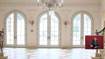 Vestíbulo de la casa de Zhenli Ye Gon, que será subastada (YouTube)