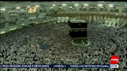 """FOTO: Celebran """"Fiesta del sacrificio"""" en La Meca, Arabia Saudita, 10 Agosto 2019"""