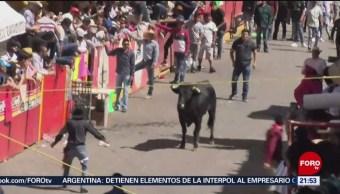 FOTO:Celebran la edición 65 de la Huamantlada, en Tlaxcala, 17 Agosto 2019