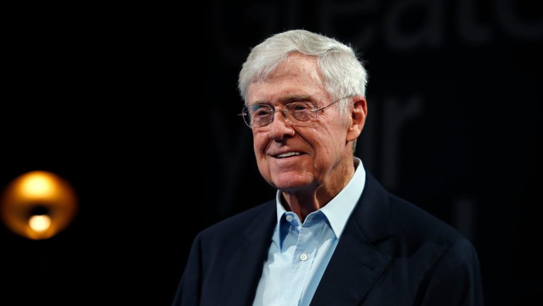 Charles Koch, 29 de junio de 2019, Estados Unidos