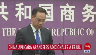 China impone aranceles a EU