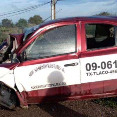 Choque deja dos muertos en Oaxaca