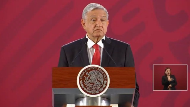 Foto: Andrés Manuel López Obrador, 15 de agosto de 2019, Ciudad de México