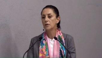 Imagen: Claudia Sheinbaum, jefa de Gobierno de CDMX, el 17 de agosto de 2019 (Gobierno de la CDMX)
