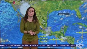 Clima Al Aire: Lluvias puntuales en Oaxaca y Chiapas