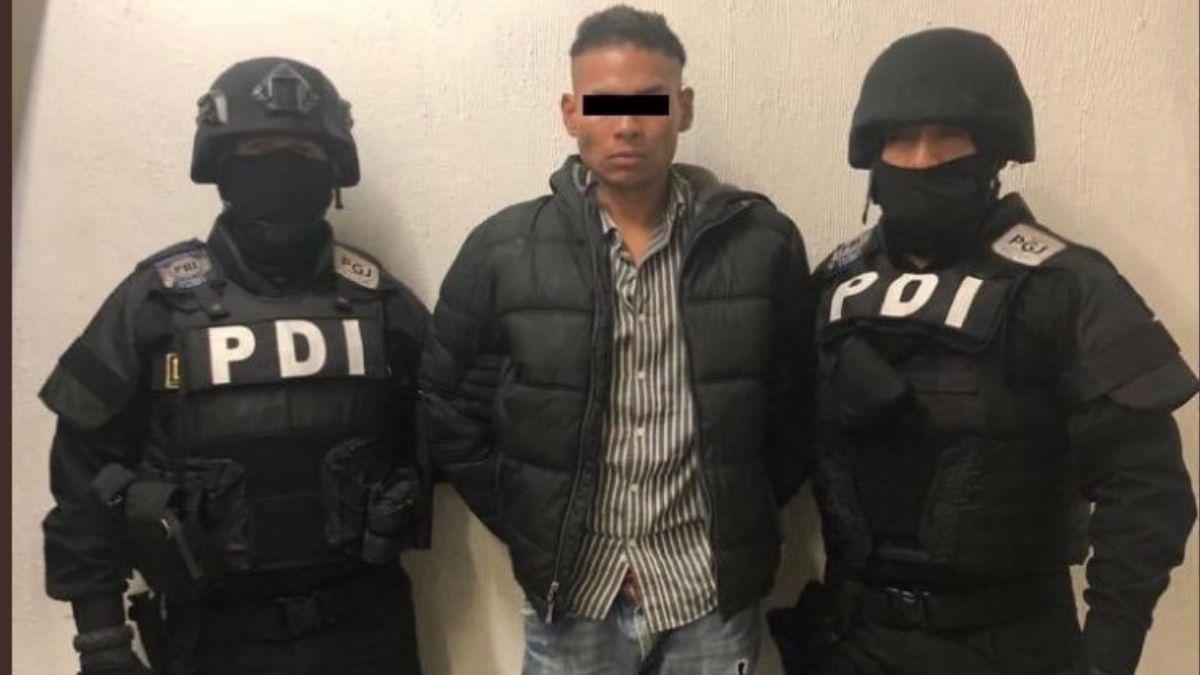 """Foto: Luis Ángel Estrada Sánchez, alias """"El Chupas"""" Estrada, fue acusado de lesiones calificadas. Twitter/@juanmapregunta"""