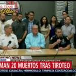 FOTO: Confirman 20 muertos y 26 heridos por tiroteo en El Paso, 3 AGOSTO 2019
