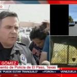 FOTO: Confirman una persona detenida por tiroteo en Texas, 3 AGOSTO 2019