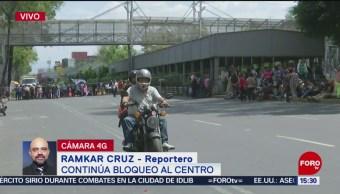 Foto: Continúa Bloqueo Damnificados Calzada San Antonio Abad