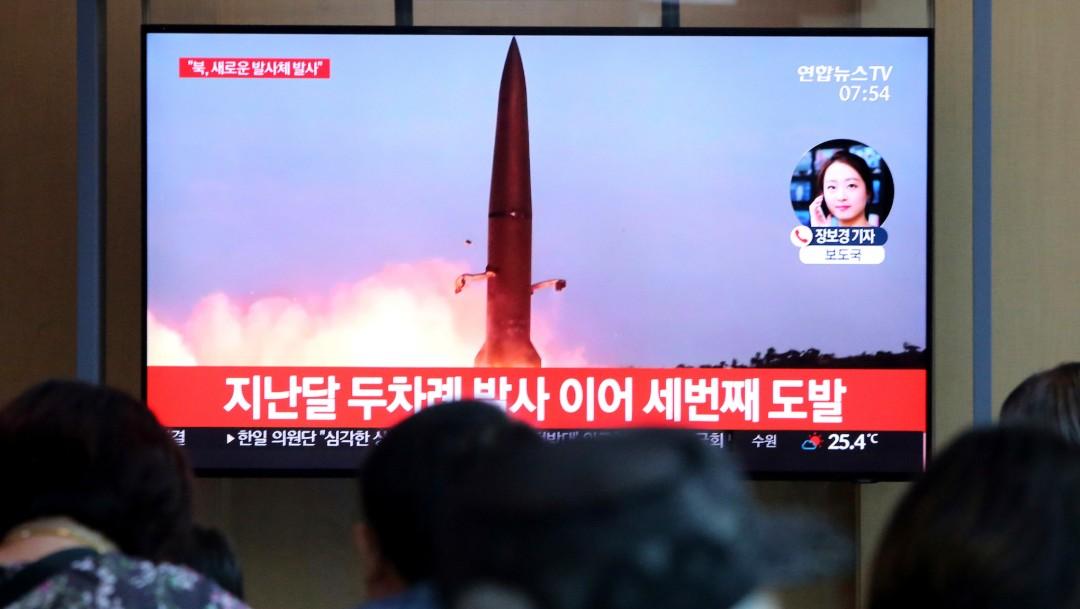 Foto: Corea del Norte lanza misiles, 2 de agosto de 2019