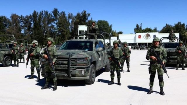 Foto El Ejército Mexicano informó que su participación fue únicamente en apoyo a las dependencias federales, 15 de agosto de 2019 (Twitter @EnriqueAlfaro)