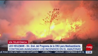 Foto: Daño Incendios Amazonas Afecta Mundo 23 Agosto 2019