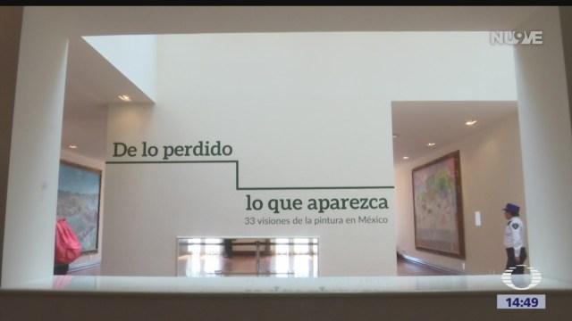 FOTO: De Lo Perdido Lo Que Aparezca Cuadros Encargados Salinas Exhiben Los Pinos