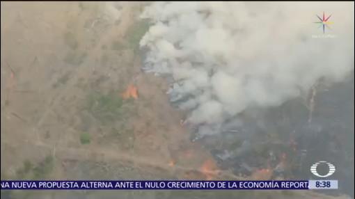 Declaran más de mil nuevos incendios en Brasil