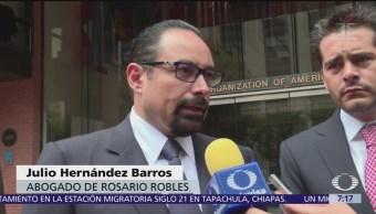 Defensa de Rosario Robles presenta queja ante la CIDH