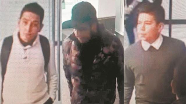 Foto: Identifican a dos de los tres hombres que robaron centenarios en la Casa de Moneda, 9 agosto 2019
